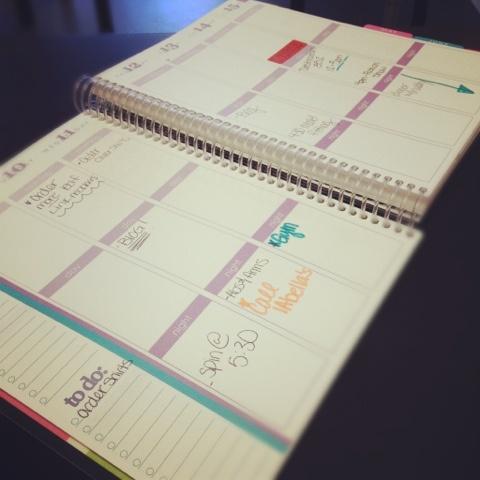 Erin Condren Life planner @erin condren: Agenda, Notebook, Calendar