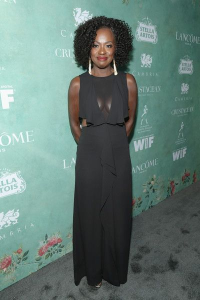 Viola Davis attends the Women In Film Pre-Oscar Cocktail Party presented by Max Mara and BMW.