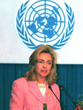 Hillary Clinton at World Conference on Women