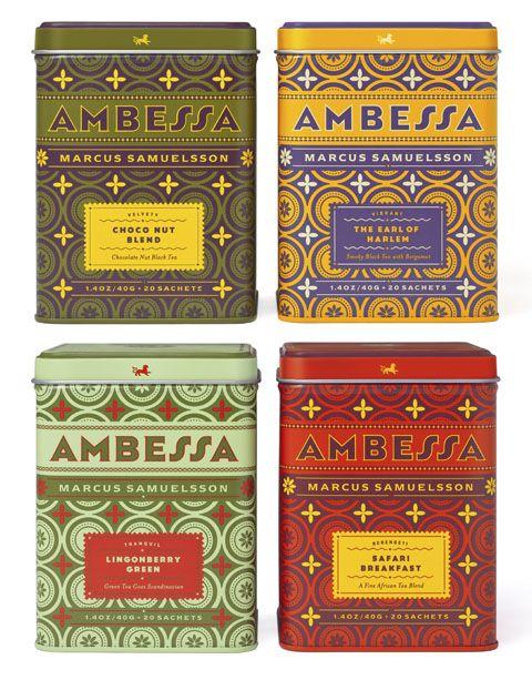 Louise Fili - Ambessa Teas
