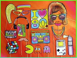 Картинки по запросу вечеринка в стиле 80-х