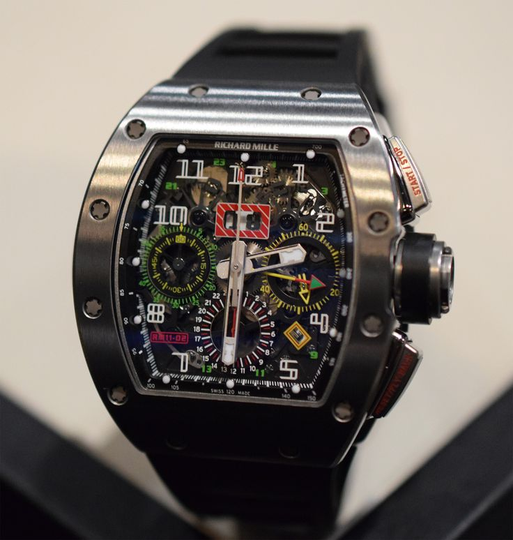 Richard Mille RM 11-02 Flyback Chronograph Dual Time