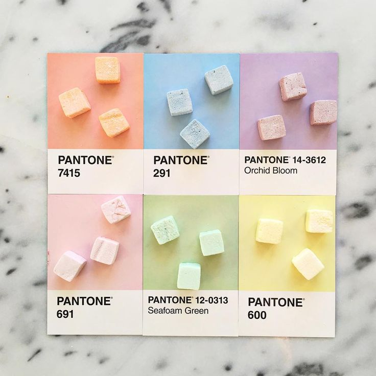"3,038 Me gusta, 27 comentarios - lucy litman (@lucialitman) en Instagram: ""Rainbow marshmallows for Pride  #pantoneposts"""
