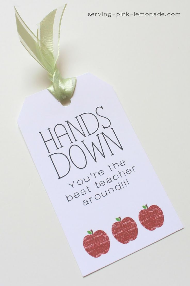 Refreshing image in hands down you re the best teacher around free printable