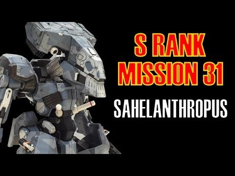 Metal Gear Solid 5 The Phantom Pain Mission 31 S Rank Boss Fight