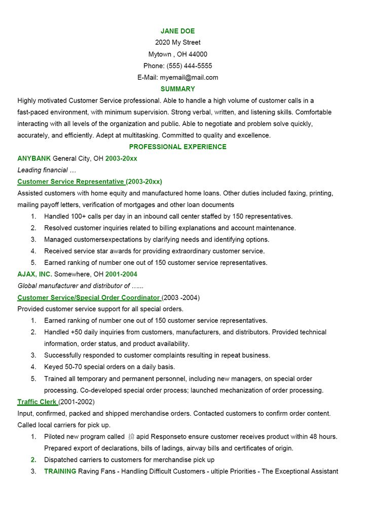 Oltre 25 fantastiche idee su Good resume objectives su Pinterest - example of general resume