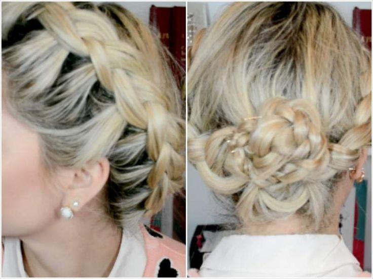 3 Penteados para fazer sozinha