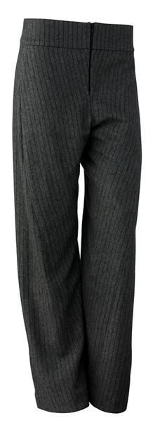 Mette Møller: Stripete bukser i ullmiks