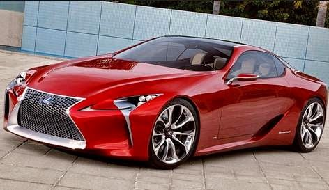 2015 Lexus LF-LC Review - Price and Design