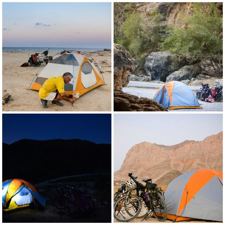 wild camping in Oman