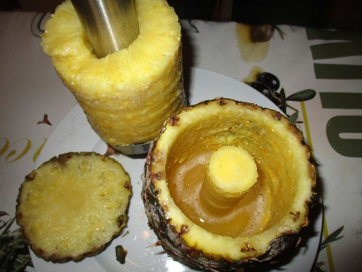 Comment couper facilement un ananas en tranches