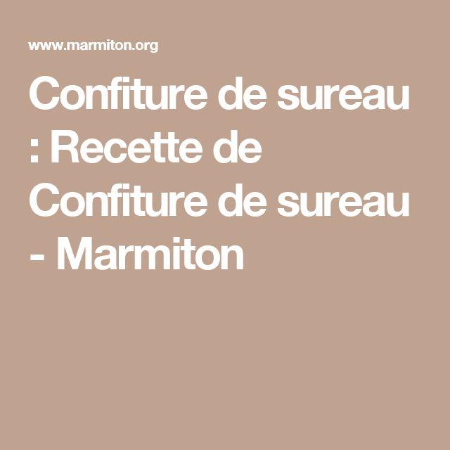 Confiture de sureau : Recette de Confiture de sureau - Marmiton