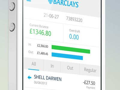 Barclays Mobile Banking Transactions