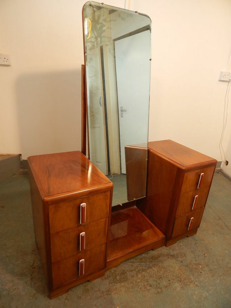 Vintage 1950 39 s dressing mirror mirror full length mirror for Womens dressing table