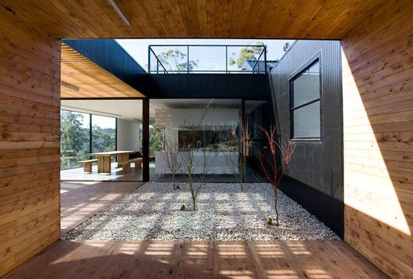 courtyard house design