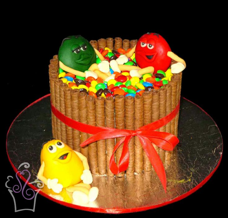 Chocolate M And M Cake