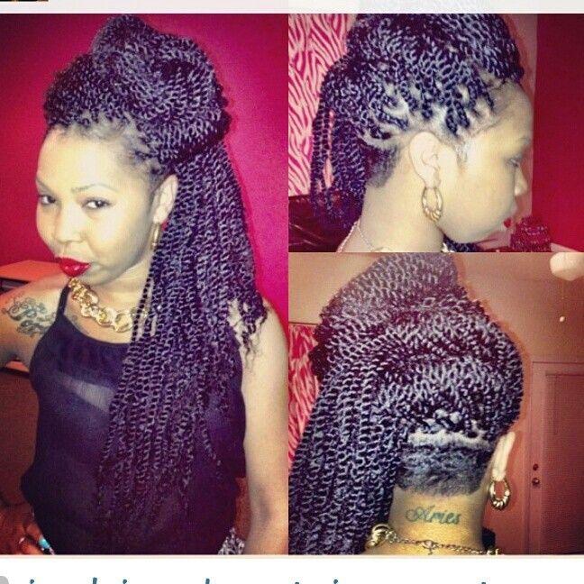 Marvelous 1000 Images About Senegalese Twist Box Braids On Pinterest Hairstyles For Women Draintrainus