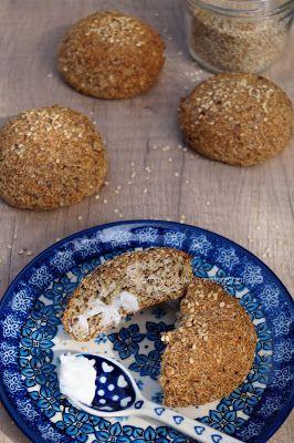 Bruine Bolletjes (vezelrijke broodjes) Paleo proof