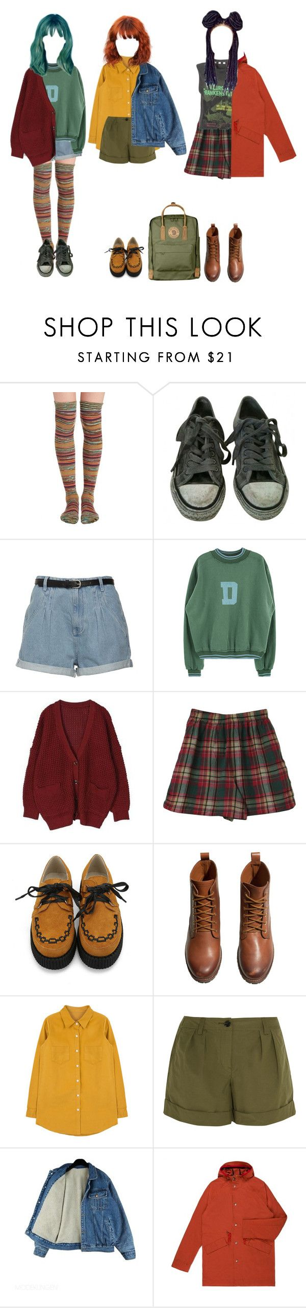 """""""Foresters"""" by forest-life ❤ liked on Polyvore featuring Free People, AllSaints, H&M, Burberry, Paul Smith and Fjällräven"""