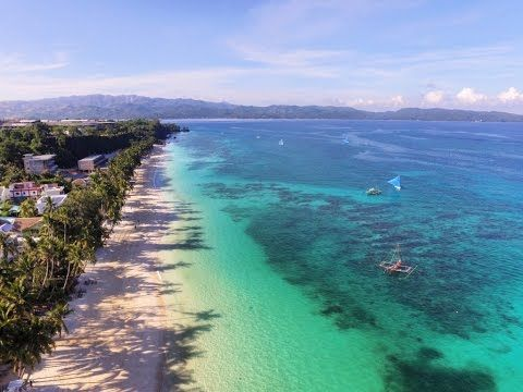 BORACAY ISLAND, PHILIPPINES - GOPRO HD & DJI Drone