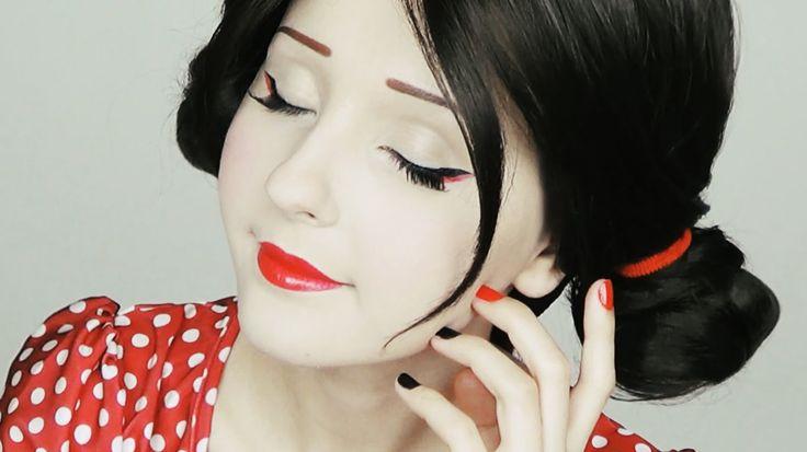 Макияж Гейши   Geisha makeup tutorial by Anastasiya Shpagina