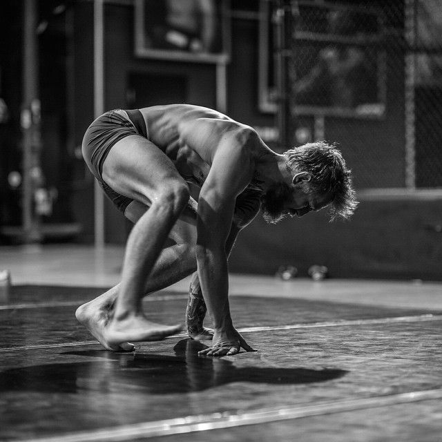 Conor McGregor practicing movement and balance : if you love #MMA, you'll love the #UFC & #MixedMartialArts inspired fashion at CageCult: http://cagecult.com/mma