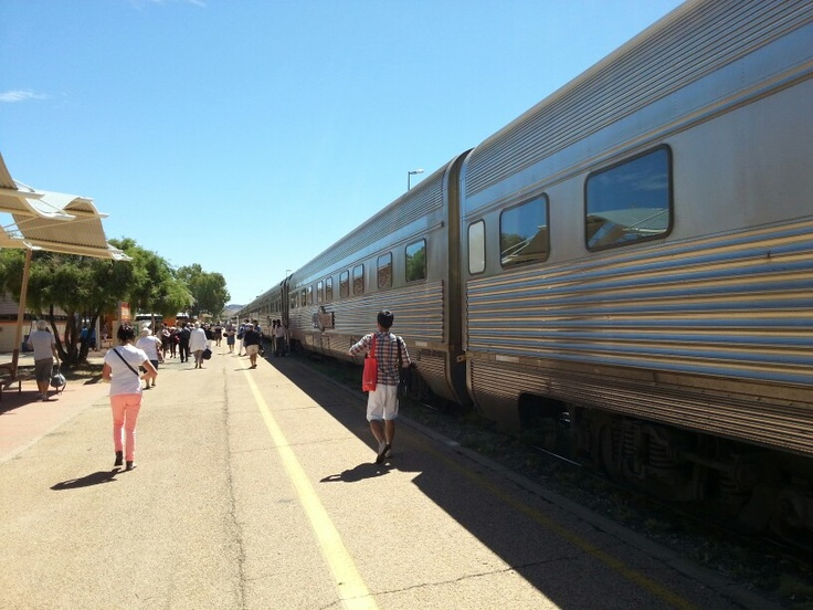 The Ghan at Alice