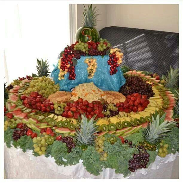 Wedding Fruit Table