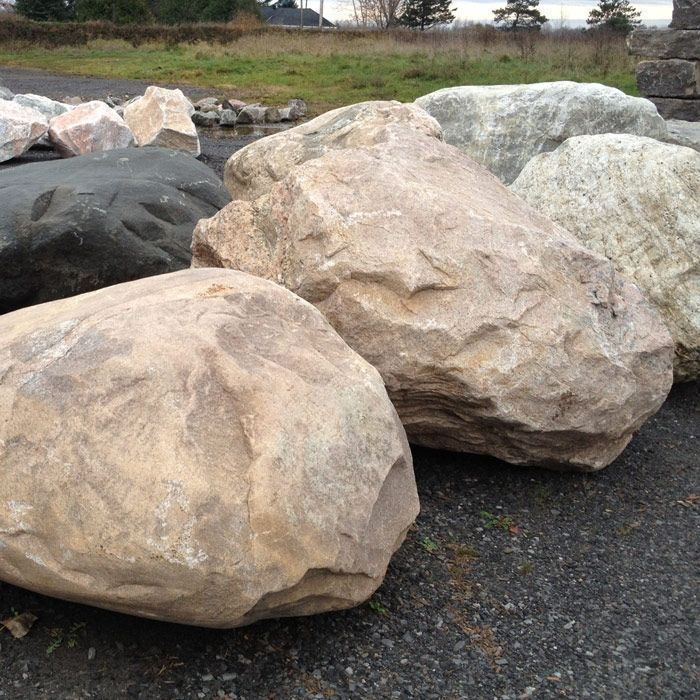 17 best ideas about large landscaping rocks on pinterest