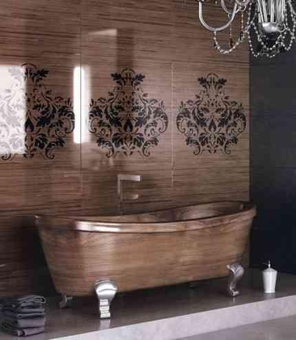 nice Trend: Banyolarınıza Ahşap Küvetler