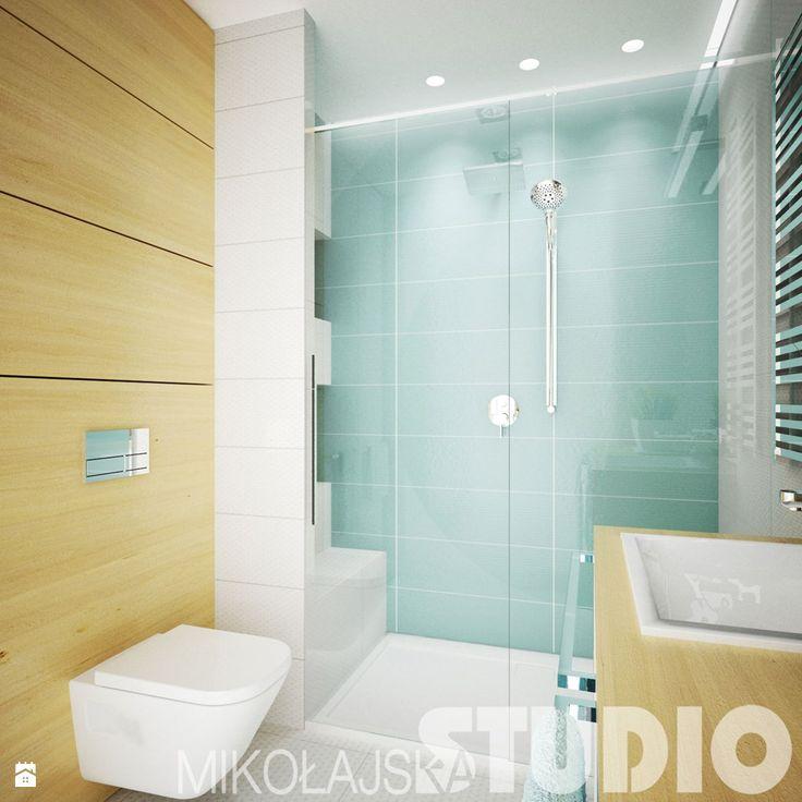 Błękitna łazienka - zdjęcie od MIKOŁAJSKAstudio