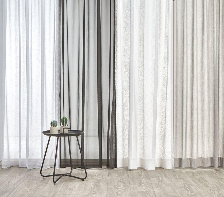 De deuren naar buiten kunnen weer open! Houd de ruimtes in huis lekker licht met wapperende vitrages #vitrage #raamdecoratie #raambekleding #kwantumbelgie #raam