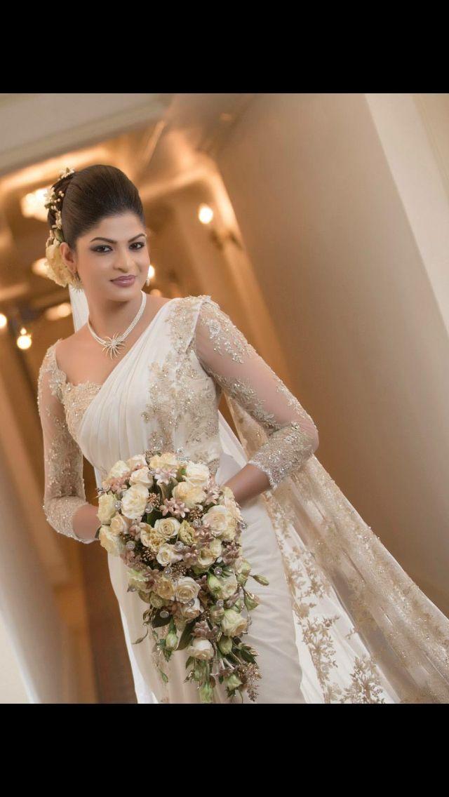 Modern Kandyan Sri Lankan bride