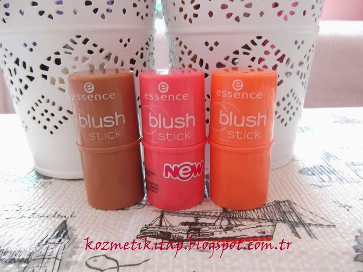 KOZMETİK & KİTAP: ESSENCE STİCK BLUSH