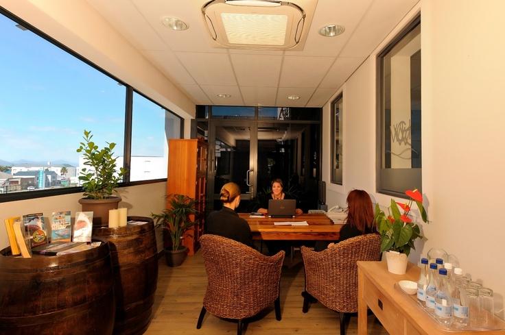 The Whale Coast Hotel Reception