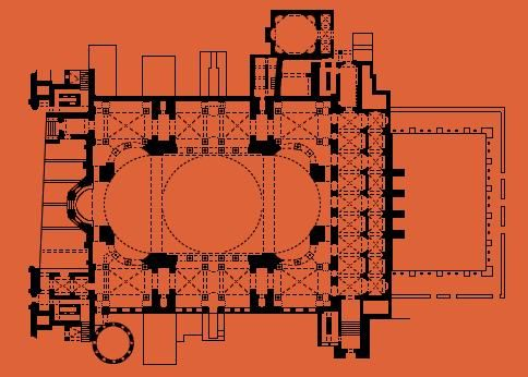 17 best images about istanbul byzantine mosques on for 1919 sophia floor plan