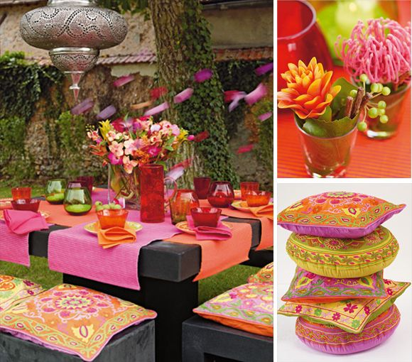 14 best indian dinner party images on pinterest cooking food pink and orange tablescape find this pin and more on indian dinner party forumfinder Images