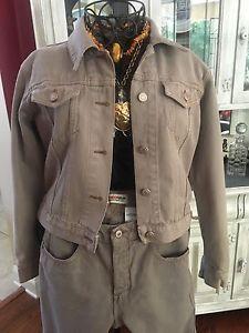 Mint Vtg Victoria Secret London Jean Denim Jacket Jeans Outfit Size XS 4 | eBay