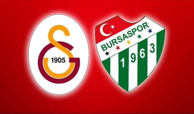 Süper Lig'in 12. hafta karşılaşmasında Bursaspor'u sahasında konuk edecek Galatasaray'da Podolski'nin ilk 11'de Eren Derdiyok'un ise yedek kulübesinde olması bekleniyor.