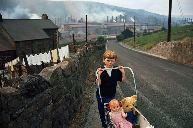 Bruce Davidson: Wales, 1965