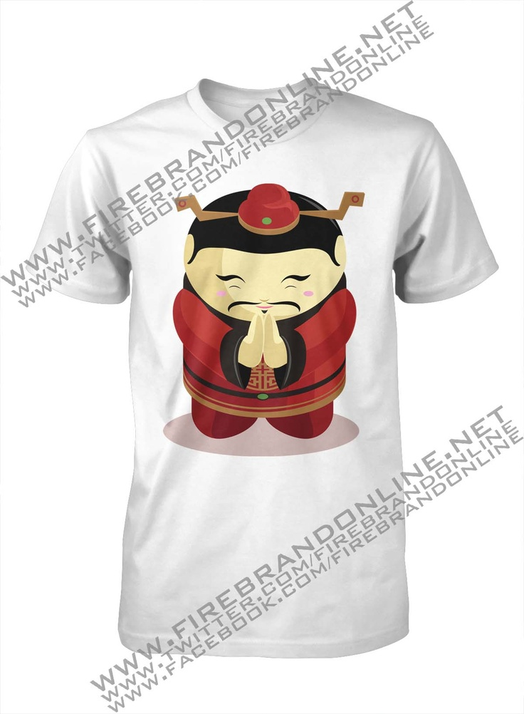 "(Unisex Tees) ""Chinamen"": For more interesting design please visit: www.firebrandonline.net"