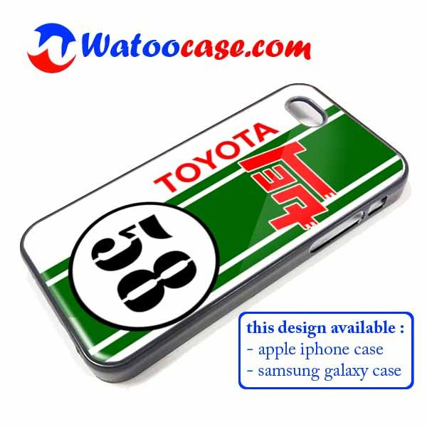 Toyota TEQ Classics Racing Phone Case | Apple iPhone 4 4s 5 5s 5c 6 6s Plus Samsung Galaxy S3 S4 S5 S6 S7 EDGE Hard Case. Toyota TEQ Classics Racing