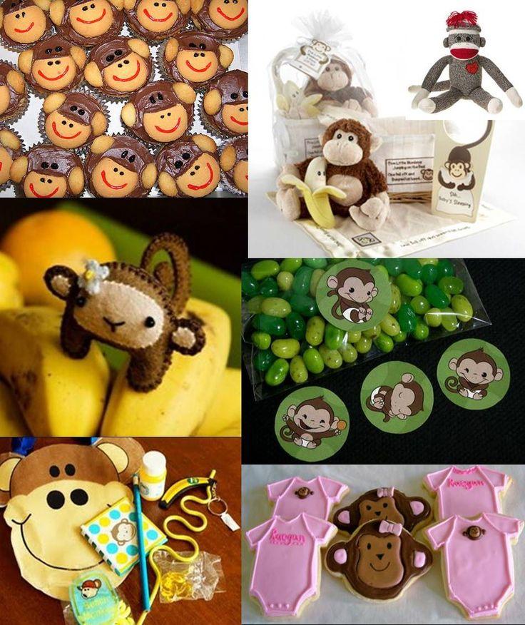 Monkey Theme Baby Shower