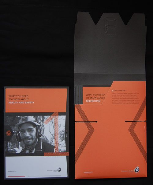 Booklets for Department of Labour, New Zealand Government