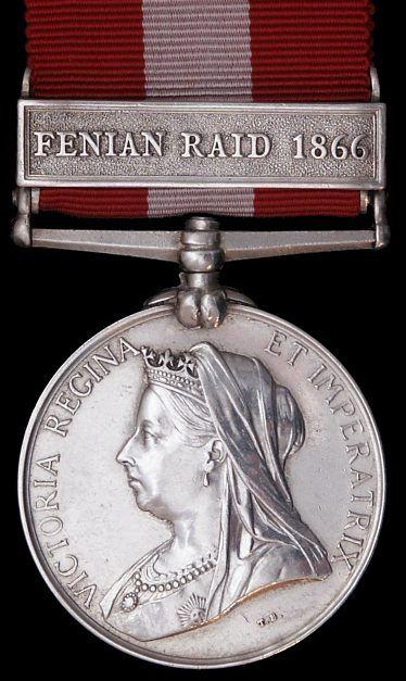 Canada General Service Medal 1866