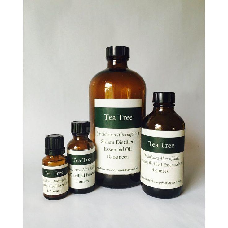 Bulk Essential Oil, Tea Tree, Melaleuca Alternifolia