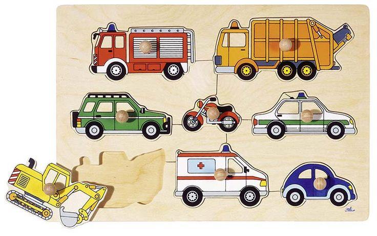 Puzzle con 8 pezzi, misurati perfettamente per mani piccoli. Il Puzzle è un gioco che aiuterà ai bambini a sviluppare la loro manualità, la loro