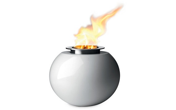 #DWRdining Lighthouse Fire Orb - Design Within Reach, would be a great centerpiece for an outdoor dinner celebration.