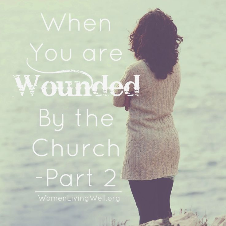 Wounding happens – in the church, in our families, in our friendships and in our workplaces. If you have been wounded by the church - this is for you.