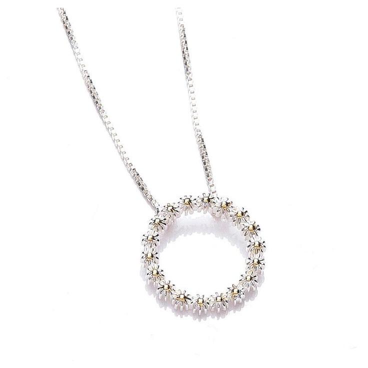 Daisy Vintage Iota Necklace